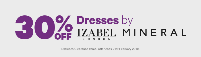 Excludes Clearance Items. Offer ends 21st February 2019.