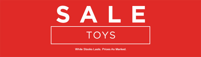 Further 20% off Toys