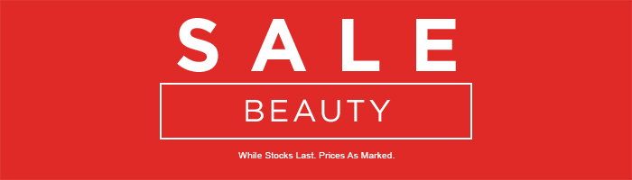 Beauty Sale on now