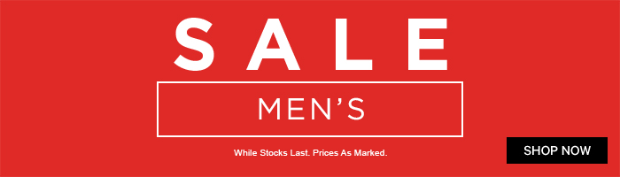 Men's Sale - End Of Season
