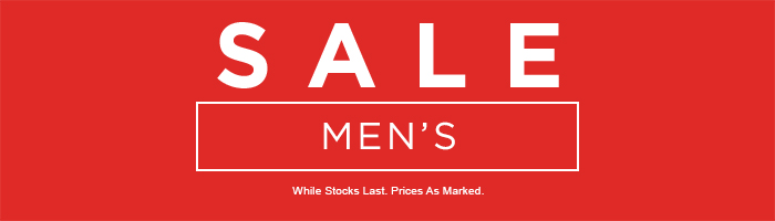 Men's Sale on now