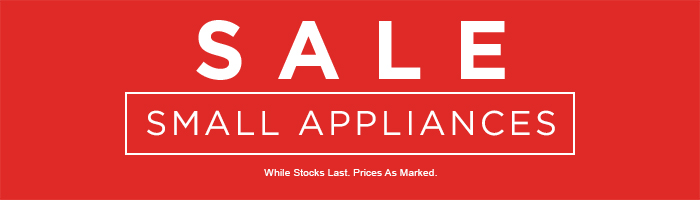 Small Appliances Sale