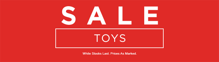 Toys Sale on now
