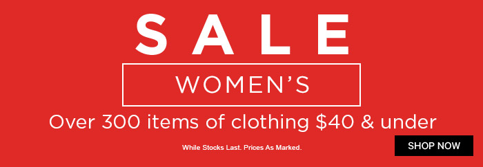End Of Season Sale - Women's
