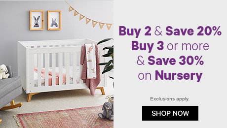 886a5997f1 Buy 2 and save 20% Buy 3 or more and save 30% on nursery