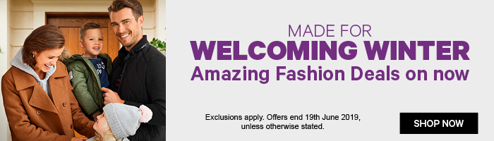 Made For Welcoming Winter, Amazing Fashion Deals on Now