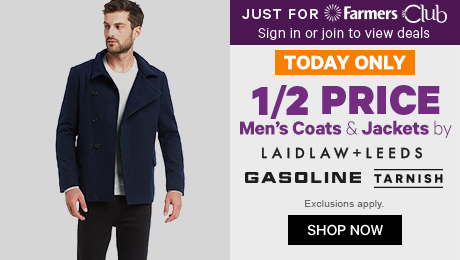 07cad387014b7 1/2 Price Men's Coats & Jackets by Laidlaw +Leeds, ...