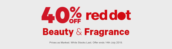 40% off Red Dot Beauty & Fragrance
