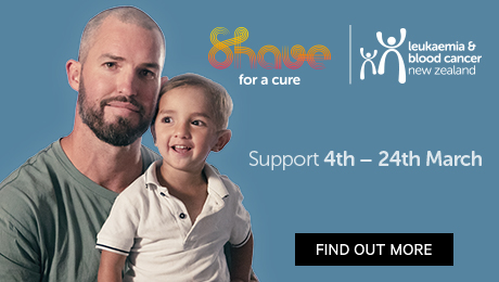Shave for a cure. Support now