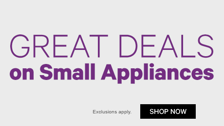 Great Deals on Small Appliances