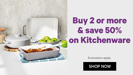 Buy 2 or more & save 50% on Kitchenware