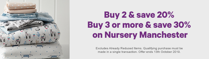 Buy 2 & Save 20% - Buy 3 or more & Save 30% on Nursery Manchester