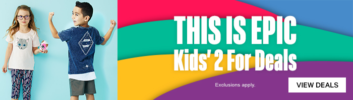 Shop Kids' 2 For Deals