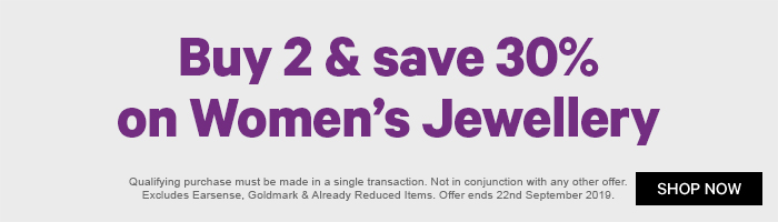 Buy 2 & Save 20% on Women's Jewellery