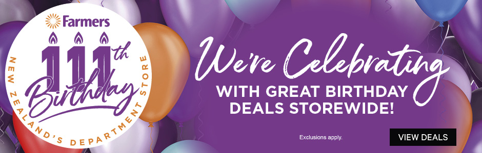 We're Celebrating with Great Birthday Deals Storewide!