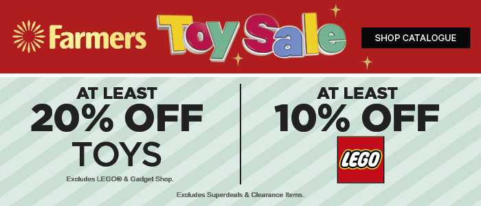 20% off Toys | 10% off LEGO | Shop Catalogue