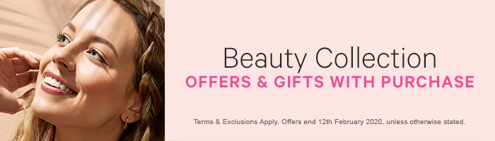 Beauty Gifts with Purchase