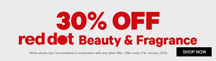 30% OFF red dot Beauty & Fragrance