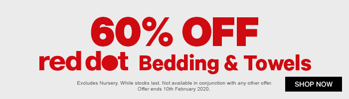 60% off red dot Kitchenware