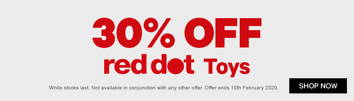 30% Off Red Dot Toys