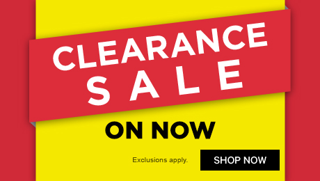 Clearance Sale on now