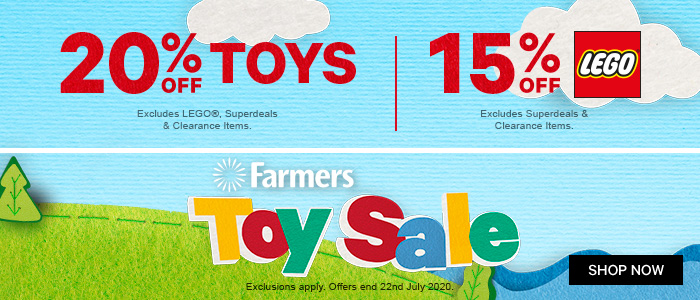 20% off Toys | 15% off Lego | Toy Sale On Now