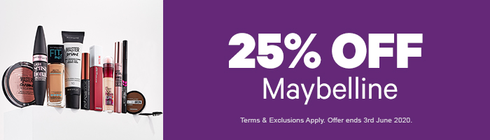 25% OFF  Maybelline New York