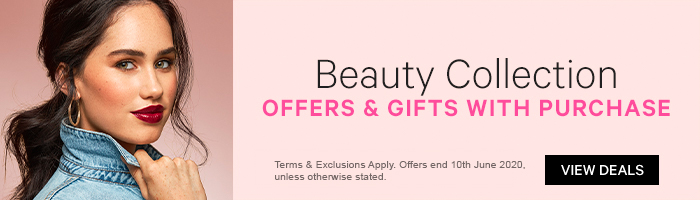 Beauty collection offers and gifts with purchase