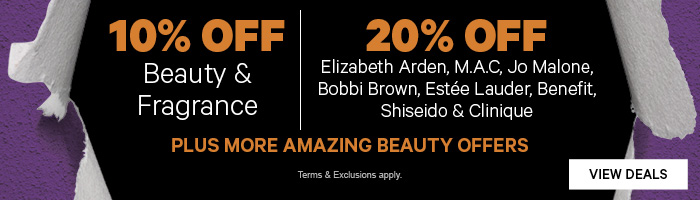 10% OFF Beauty & Fragrance | Plus More Amazing Beauty Offers!