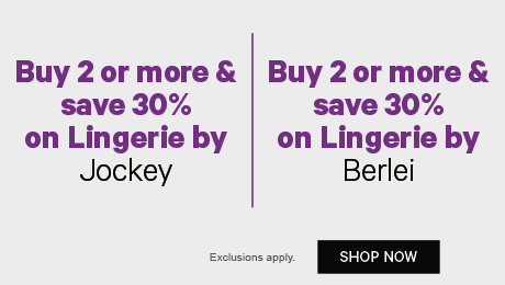 Buy 2 or more & save 30% on Lingerie by Jockey | Buy 2 or more & save 30% on Lingerie by Berlei