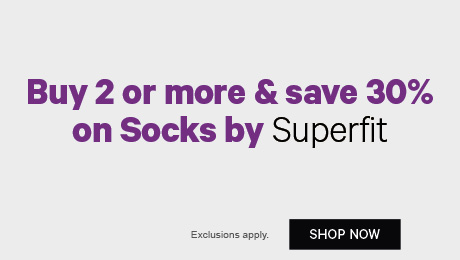 Buy 2 or more & save 30% on Socks by Superfit