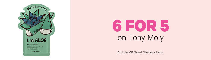 6 For 5 on Tony Moly