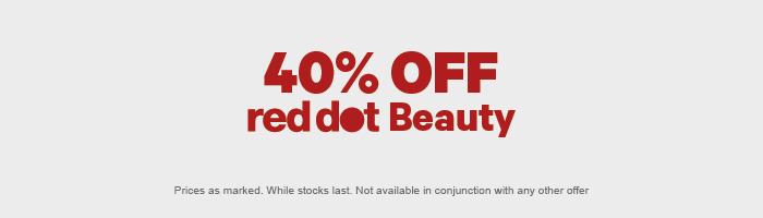 40% OFF red dot Beauty