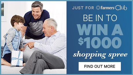 be in to win a $1000 shopping spree