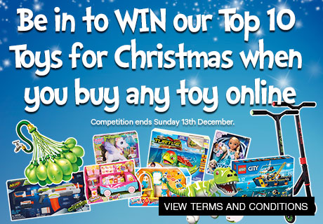 Top Ten Toys for Christmas Competition