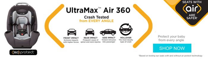 Ultra Max Air 360 - Protect Your Baby From Every Angle