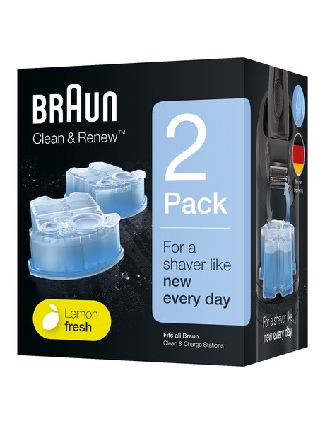 Braun Clean & Charge Refills 2-Pack CCR2 product photo