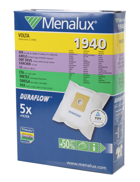 Menalux Vacuum Bag 1940 product photo