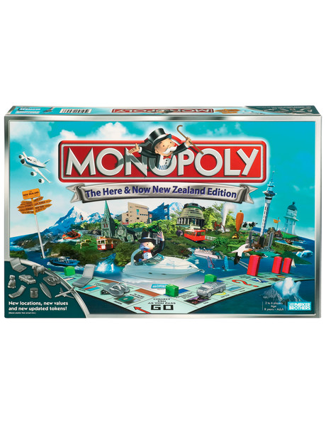 Hasbro Games Monopoly Here & Now NZ Edition product photo