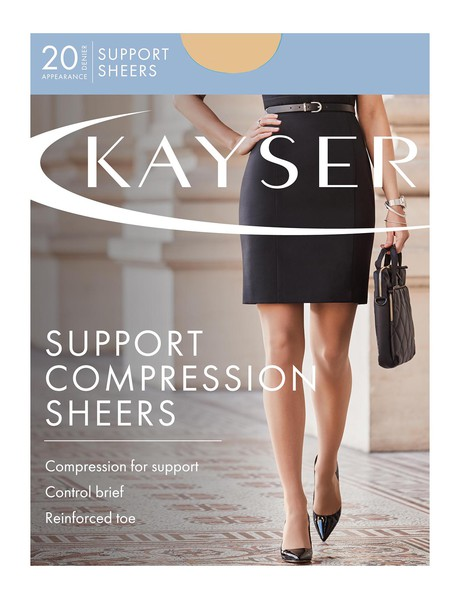 Kayser Sheer Support Pantyhose, 20 Denier product photo