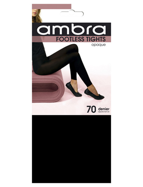 Ambra Footless Tights, 70 Denier product photo