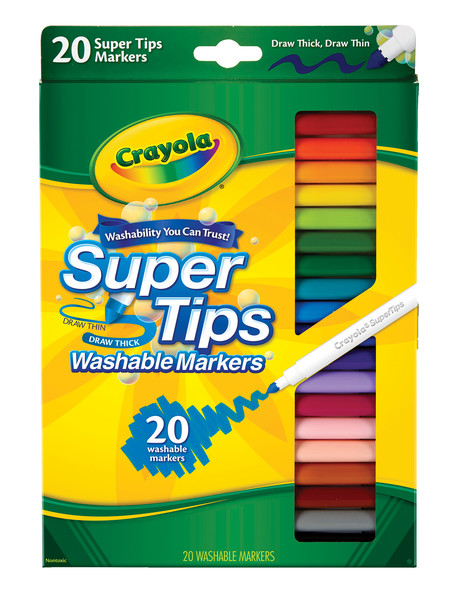 Crayola Washable Super Tips Markers product photo