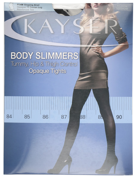 Kayser Body Slimmers, Opaque Tights, 70 Denier, Black product photo