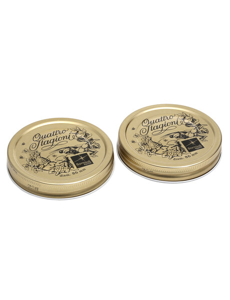 Bormioli Rocco Quattro Stagioni 2-Pack Preserving Jar Lids, 86mm product photo