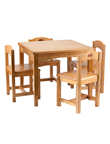 Babyhood Wooden Playing Table & Chairs C