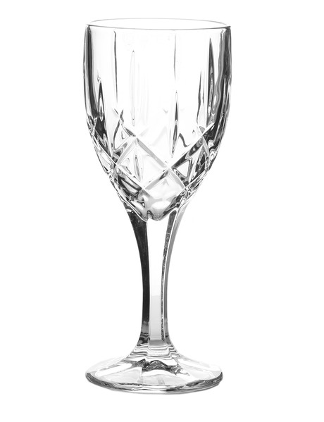 Bohemia Sheffield Set of 6 White Wine Glasses, 240ml product photo