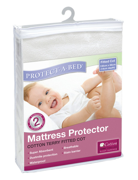 Protect-A-Bed Terry Cot Mattress Protector product photo