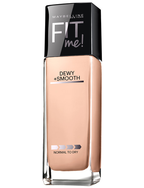 Maybelline Fit Me Foundation Liquid Dewy & Smooth in Ivory, 30 ml product photo
