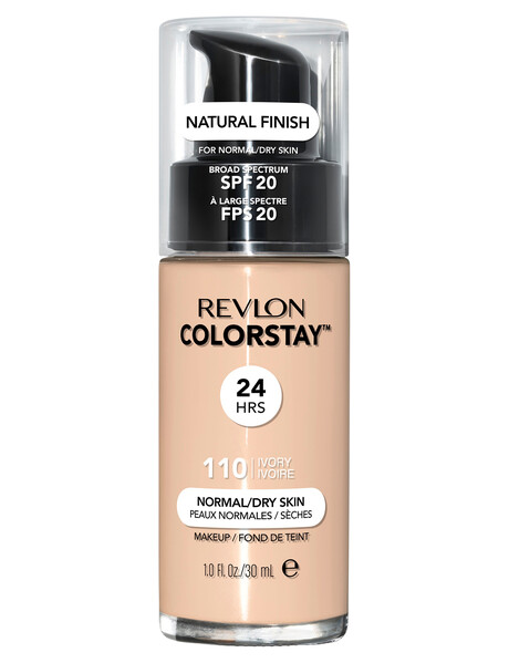 Revlon ColorStay Makeup With Time Release For Normal or Dry Skin product photo