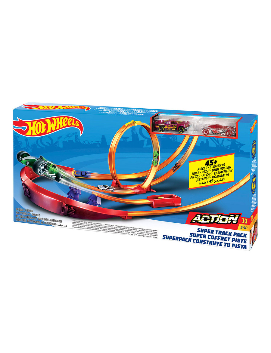 Super Hotwheels Track Pack Bundle - Cars, Trucks & Remote Control MF-26